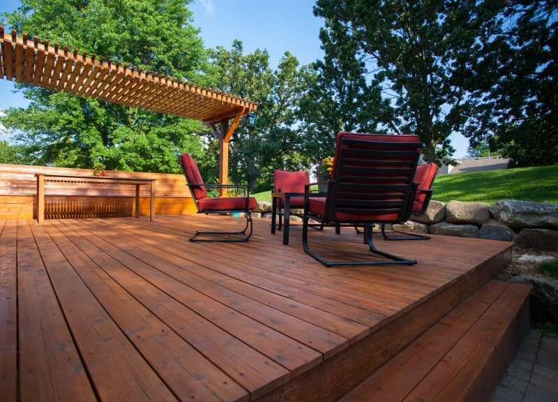 wood staining colorado springs